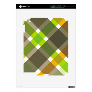 Retro Argyle Skins For iPad 2