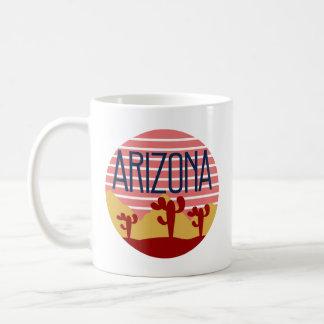 Retro Arizona Home State Coffee Mug Pride Vintage