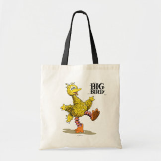 Retro Art Big Bird Canvas Bag