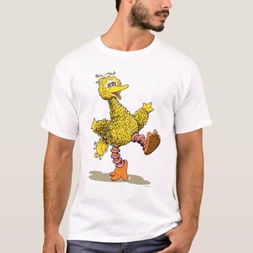 Retro Art Big Bird T_Shirt