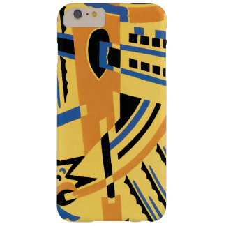 Retro Art Deco Jazz Geometric Shapes Patterns Barely There iPhone 6 Plus Case