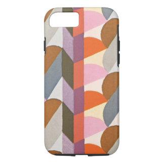Retro Art Deco Jazz Pastel Colors Shapes Patterns iPhone 7 Case
