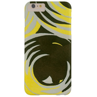 Retro Art Deco Jazz Vintage Circles Swirls Pattern Barely There iPhone 6 Plus Case