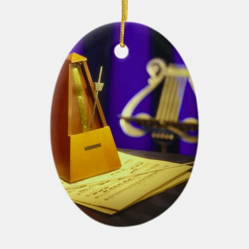 Retro Arts & Entertainment Elements 1 Christmas Ornaments