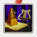 Retro Arts & Entertainment Elements 1 Ornament