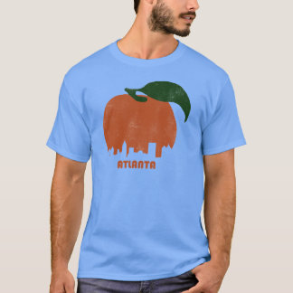 Retro Atlanta Skyline-Men T-Shirt