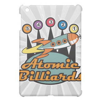 retro atomic billiards sign case for the iPad mini
