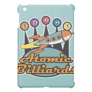 retro atomic billiards sign iPad mini cover