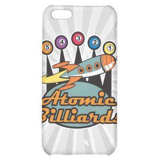 retro atomic billiards sign iPhone 5C cases