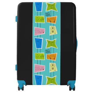 Retro Atomic Kitsch Luggage