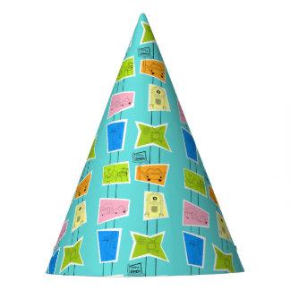 Retro Atomic Kitsch Party Hat
