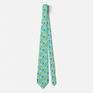 Retro Atomic Kitsch Tie