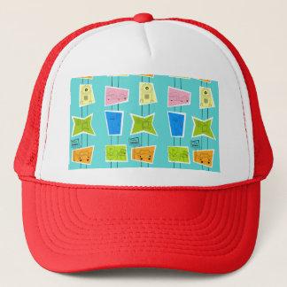 Retro Atomic Kitsch Trucker Hat