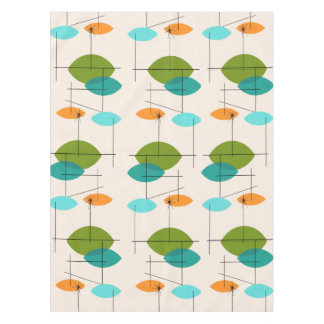 Retro Atomic Mobile Pattern Tablecloth