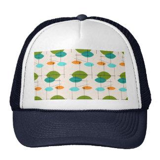 Retro Atomic Mobile Pattern Trucker Hat