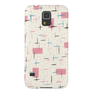 Retro Atomic Pink Pattern Samsung Galaxy S5 Case