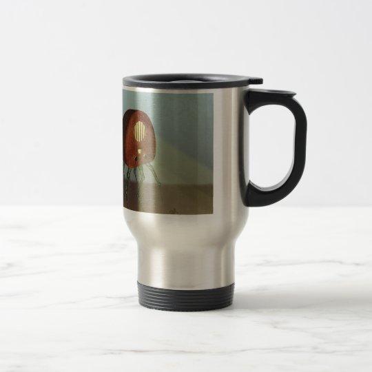 Retro Attack Travel Mug