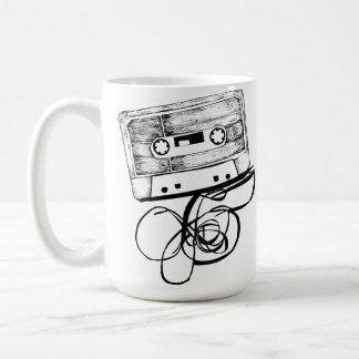 Retro Audio Cassette Design Coffee Mug - Hiphop