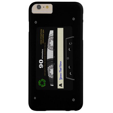 Retro Audio Cassette Mix Tape Barely There iPhone 6 Plus Case