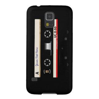 Retro Audio Cassette Mix Tape Samsung Galaxy S5 Galaxy S5 Case