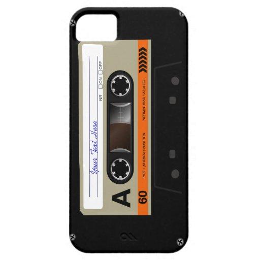 Retro Audio Cassette MixTape Funny  iPhone 5 Case iPhone 5/5S Covers