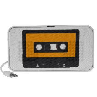 Retro audio cassette PC altavoces