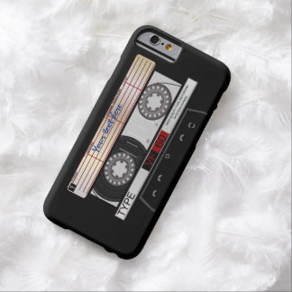 Retro Audio Cassette Tape Barely There iPhone 6 Case