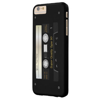 Retro Audio Cassette  Tape Funny Barely There iPhone 6 Plus Case