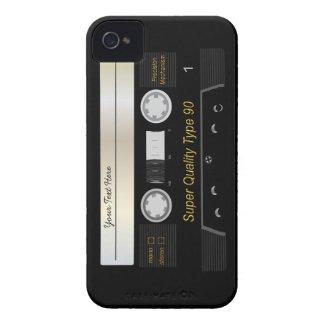 Retro Audio Cassette Tape Funny iPhone 4 Case