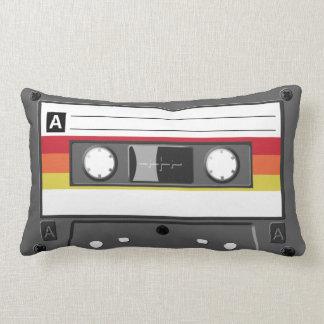 Retro Audio Cassette Tape Pillow