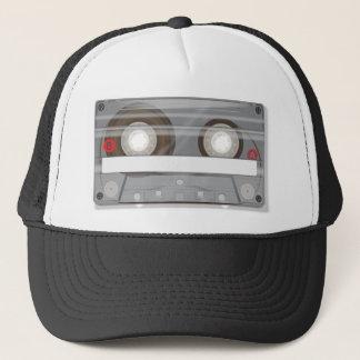 Retro Audio Cassette Tape Trucker Hat