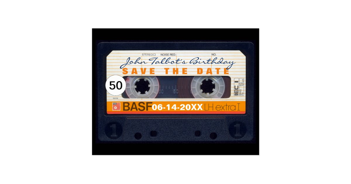 Birthday Save The Date Postcards | Zazzle