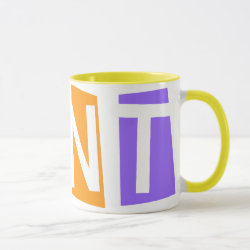 Combo Mug with Retro Aunt design