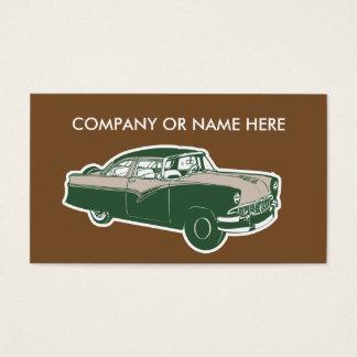 Antique restoration business cards templates zazzle retro automotive business cards reheart Choice Image