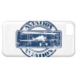 Retro Aviation Art iPhone 5C Covers