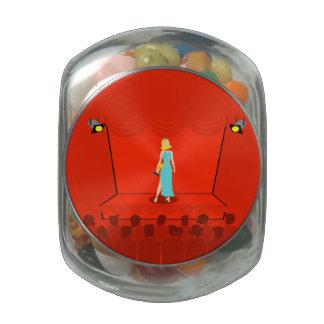 Retro Award Show Candy Jar Jelly Belly Candy Jar