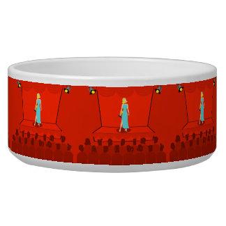 Retro Award Show Ceramic Pet Bowl