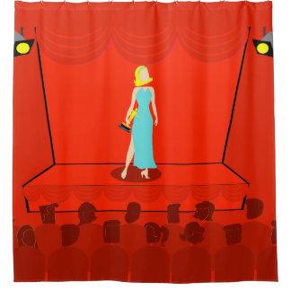 Drama Shower Curtains | Zazzle