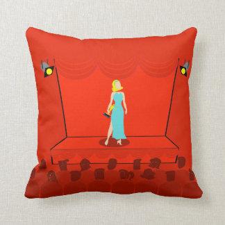 Retro Award Show Throw Pillow