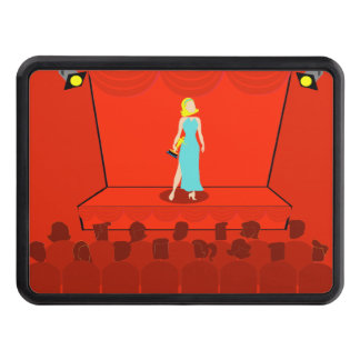 Retro Award Show Trailer Hitch Cover