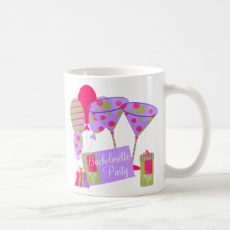 Retro Bachelorette Party Mugs