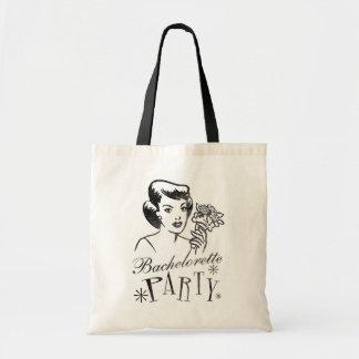 Retro Bachelorette Party Tote Bag