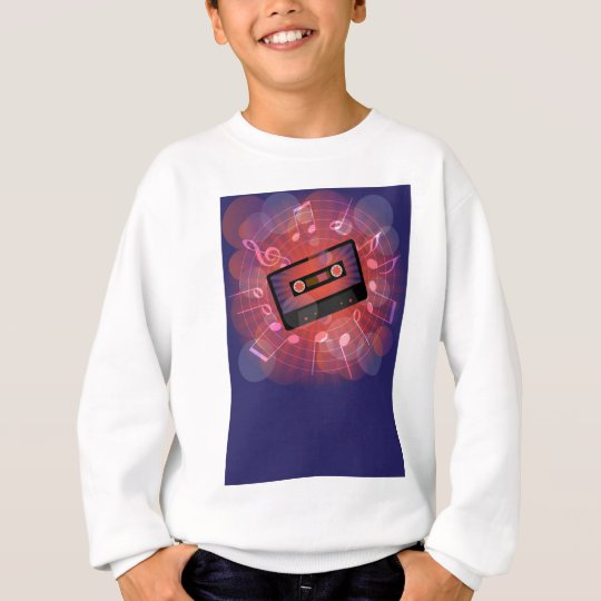 Retro Background Sweatshirt