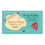 Retro Bakery Cookie Business card