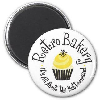 Retro Bakery Magnets! Magnet