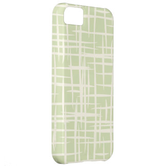 retro bamboo vintage pattern iphone 5 case green