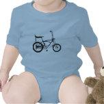Retro Banana Seat Bike Baby Bodysuit