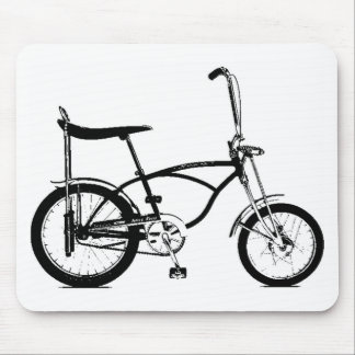 Retro Banana Seat Bike Mouse Pad