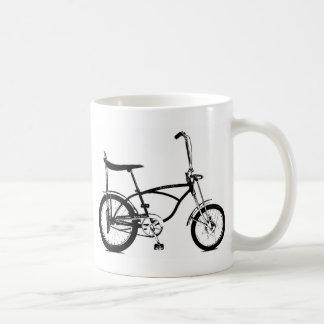 Retro Banana Seat Bike Classic White Coffee Mug