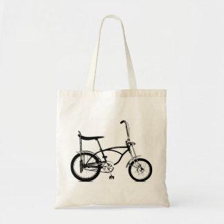 Retro Banana Seat Bike Tote Bag